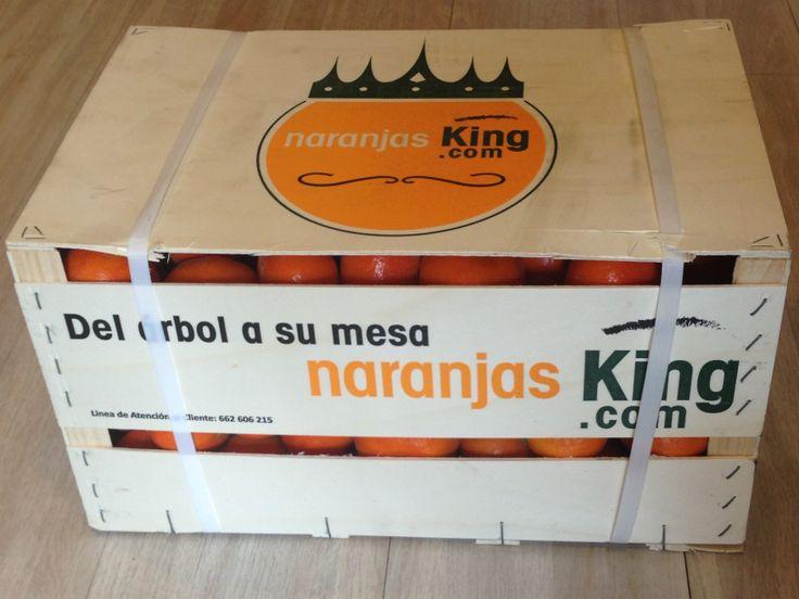 Caja de 15 Kg de Naranjas KIng www.NaranjasKing.com