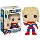 Pop! Vinyl Marvel Unmasked Captain Marvel Pop! Vinyl Figure Captain Marvel gets the Pop! Vinyl treatment! The Marvel Unmasked Captain Marvel Pop! Vinyl Figure features Carol Danvers unmasked in her iconic blue and red costume! This figure measures about 3 3/4- http://www.MightGet.com/january-2017-11/pop!-vinyl-marvel-unmasked-captain-marvel-pop!-vinyl-figure.asp