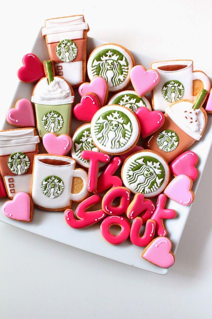 Sweeten your day.: Starbuckscoffee icing cookies!    スタバのアイシングクッキー