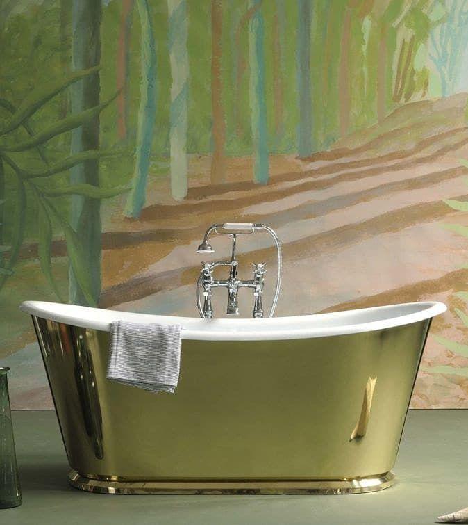 the brassk usk cast iron bateau bath tub