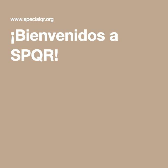 ¡Bienvenidos a SPQR!