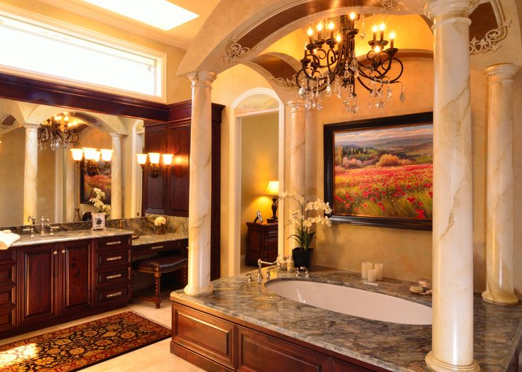 Best 25+ Tuscan bathroom ideas on Pinterest
