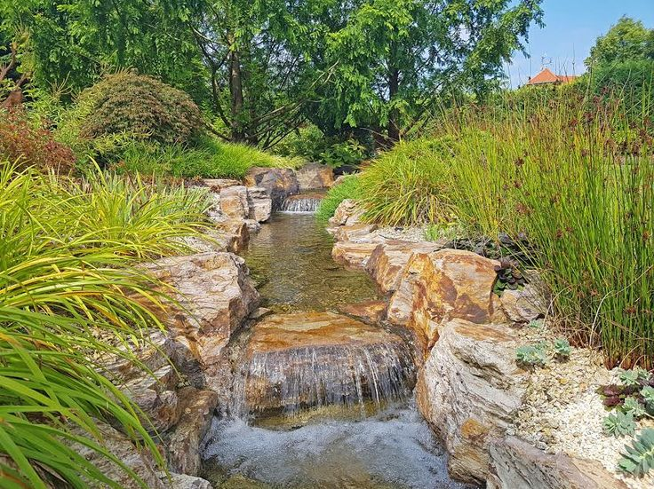 Tuba Péter tatai kertje - patak Az adásban Márk ellátogat Tuba Péter kertépítő egyik gyönyörű kertjébe, ahol Péter elmeséli,  hogyan lehet mesés kerti patakot létrehozni-szikla jacuzzi-val:-)