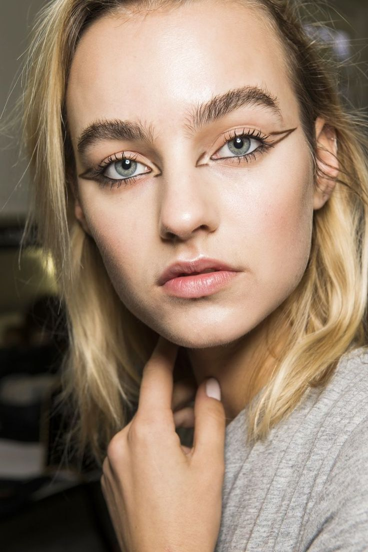See The Best Makeup Looks From Fashion Month So Far Makeup
