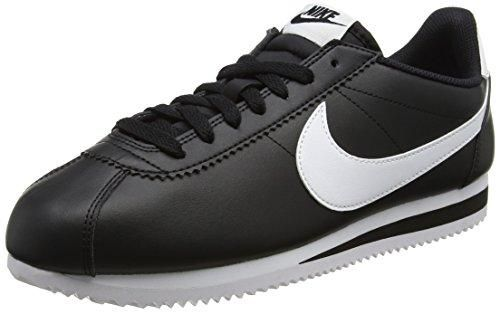Oferta: 85€. Comprar Ofertas de Nike Wmns Classic Cortez Leather, Zapatillas de Deporte para Mujer, Negro (Black / White-White), 40 EU barato. ¡Mira las ofertas!