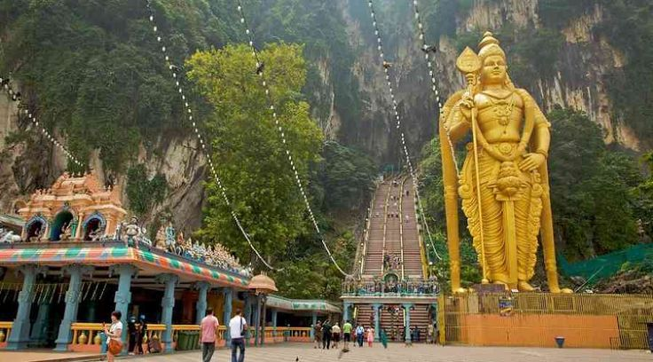 Top Malaysia Sightseeing Attractions - Batu Caves is a limestone slope containing three noteworthy holes and various little ones.