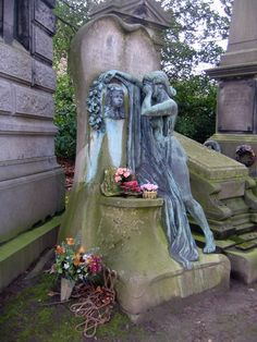 Grief and sorrow Cimetière de Bruxelles by jewell