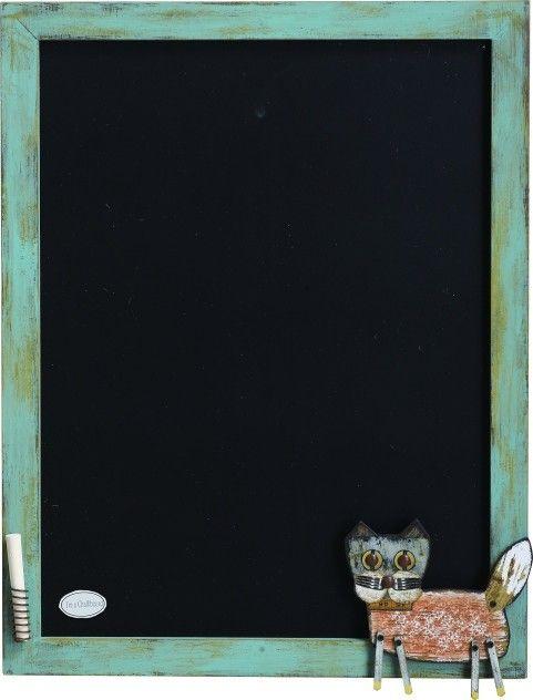 Lost and Found Cat Multimedia Chalkboard