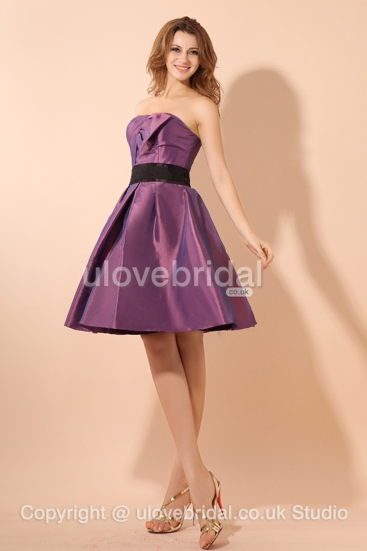 40 best bridesmaid dress id like to have images on pinterest 2013 style glamorous strapless pleated knee length a line bridesmaid dress ombrellifo Images