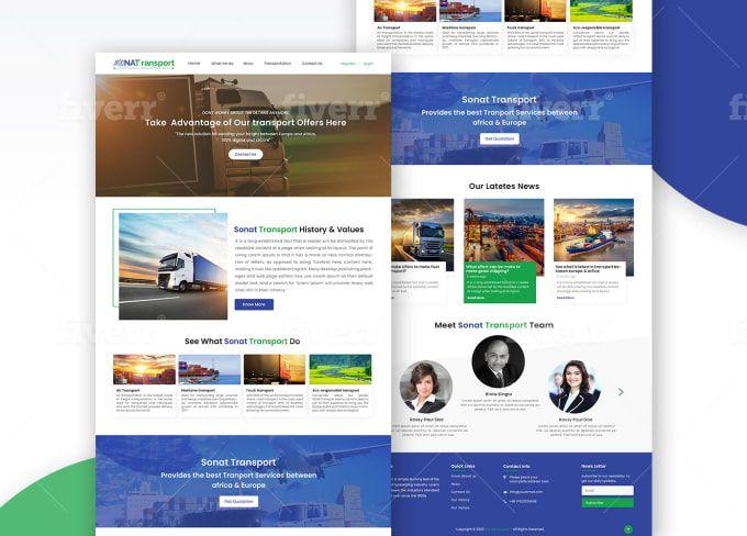 Janjua Designer I Will Design Psd Template Website Psd Mockup Or Xd Web Template For 45 On Fiverr Com Web Template Psd Templates Mockup Psd