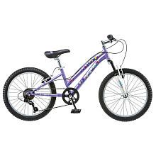 Girls 20 Inch Mongoose Stylus Purple Bike