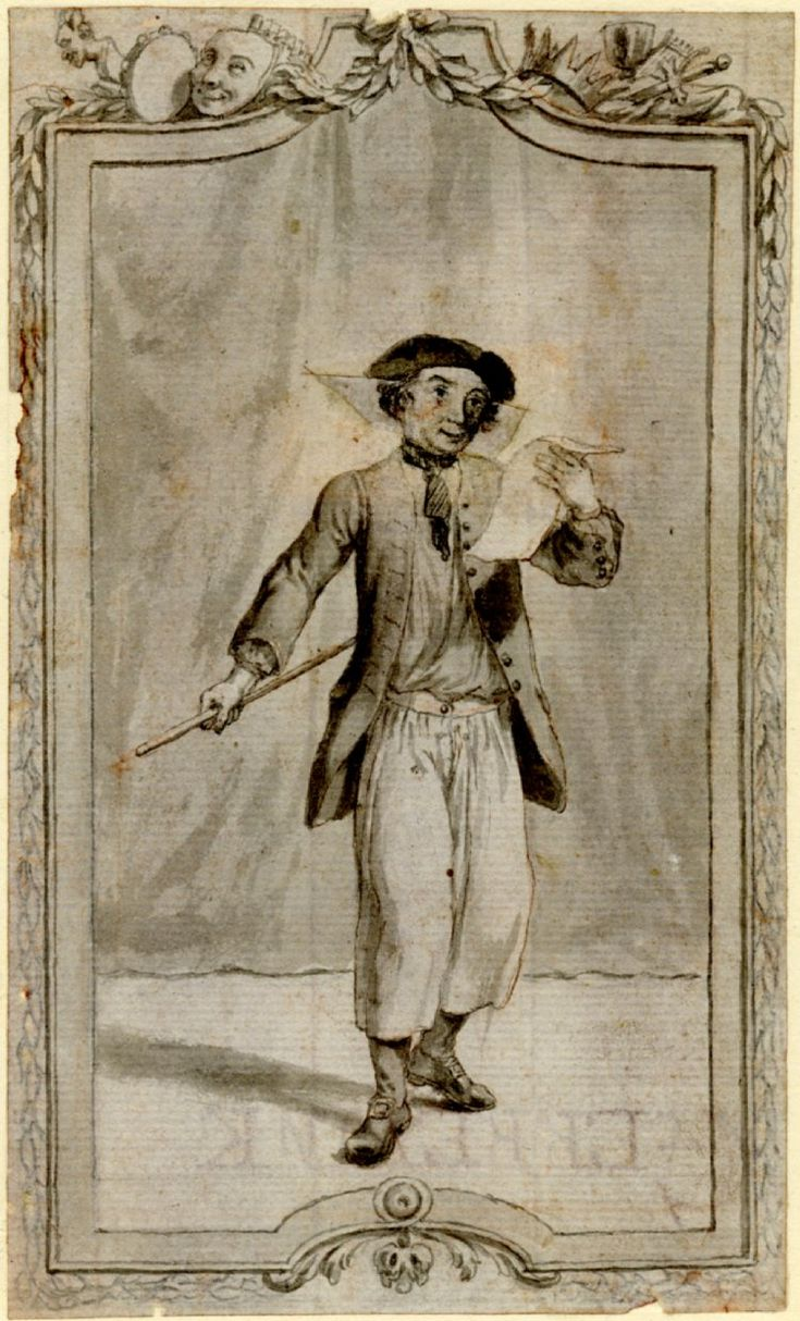 1730-1786 Portrait of David Garrick as the drunken sailor in Mallet's 'Britannia at The British Museum Registration number 1863,0214.758