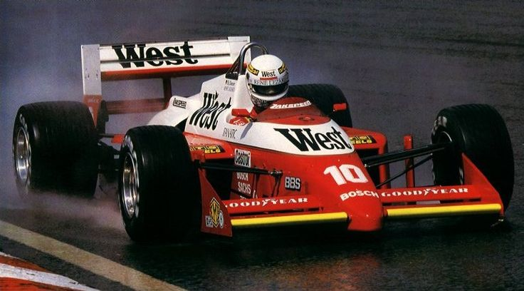 Christian Danner, Spa Francorchamps, Zakspeed 871, Formula 1, 1987.