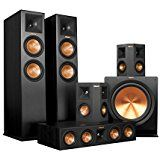 Amazon.com: Klipsch 7.1 RP-280 Reference Premiere Surround Sound Speaker Package with R-115SW Subwoofer and a FREE Wireless Kit (Black): Electronics