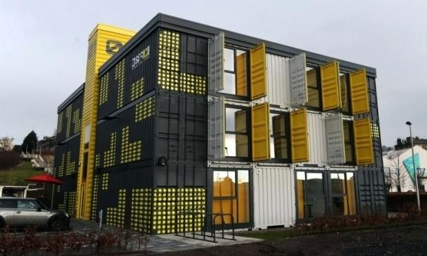Container Office 6 A Container Offices Container Office For Sale In Karachi Sea Container Homes Shipping Container Shipping Container Office