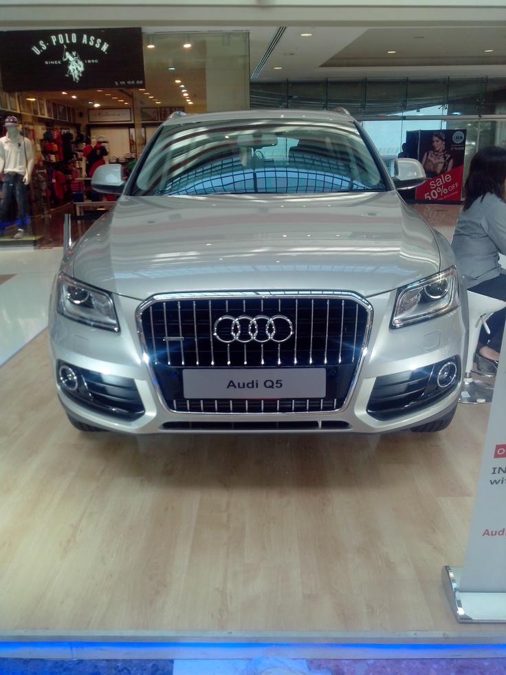 Audi Q 5..silver beauty..