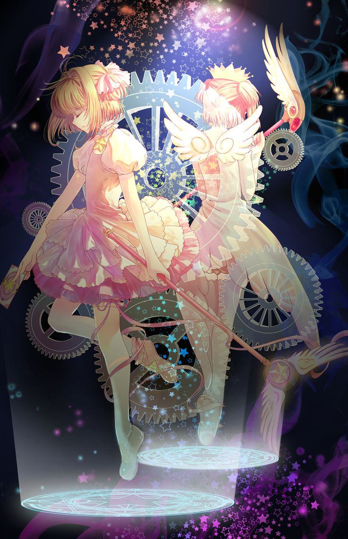 Cardcaptor Sakura | CLAMP | Madhouse / Kinomoto Sakura / 「雙 *木之本 樱」/「HaneRu」のイラスト [pixiv]