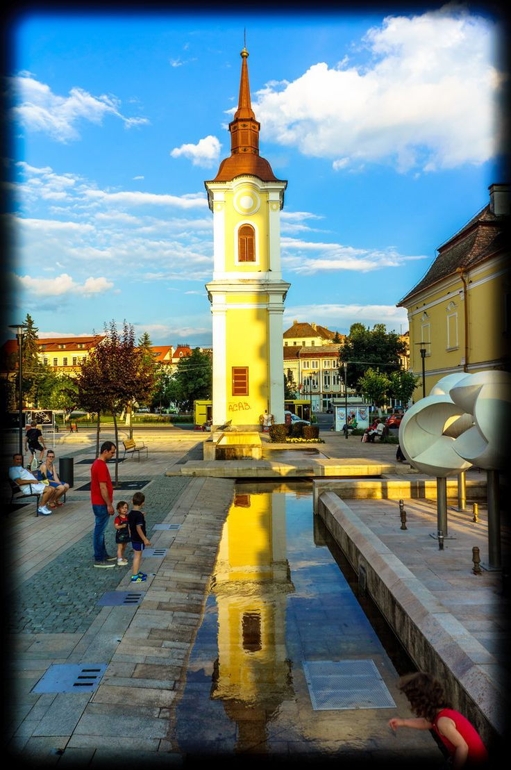 Fotografía City sunset por Hurghis Vasile en 500px Targu Mures , Romania