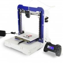 HOONY 3D Desktop Acrylic LCD Screen Printer H8 DIY High Accuracy Self Assembly and Included Filament with Micro SD Card