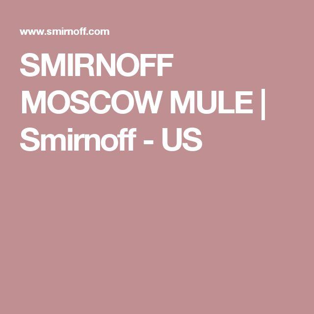 SMIRNOFF MOSCOW MULE   Smirnoff - US
