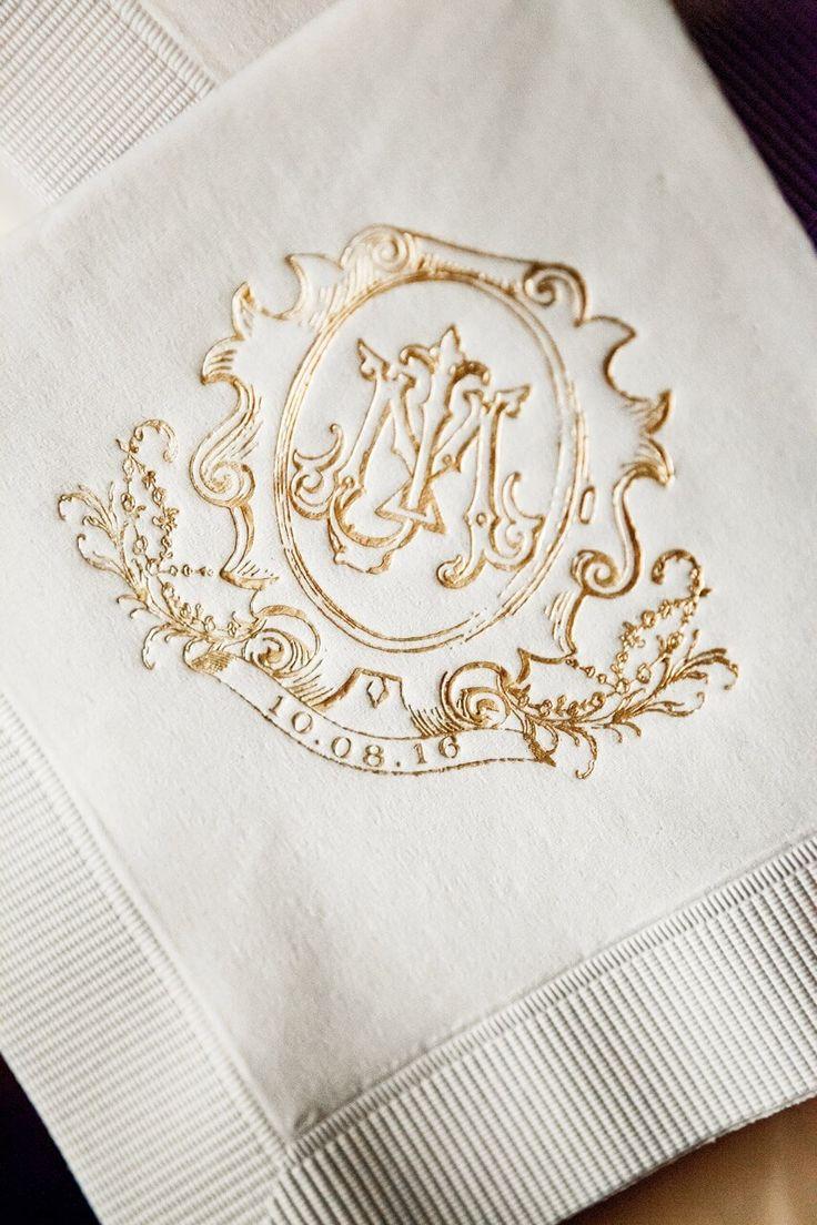Wedding Monogrammed Napkins