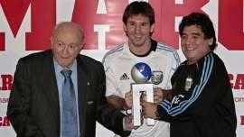 Pelé dijo que Di Stéfano era mejor que Lionel Messi y Diego Maradona