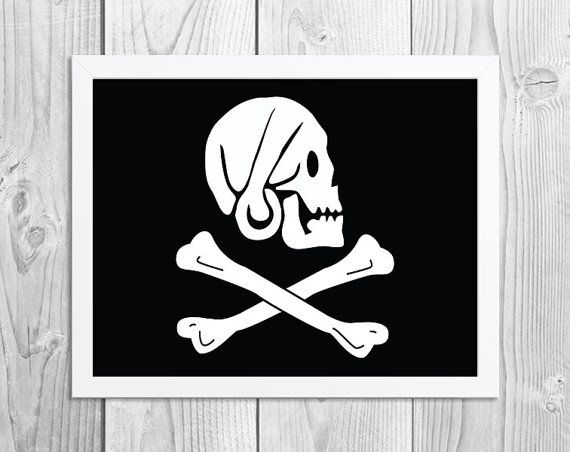 Henry Every Pirate Flag Alternative Black Sails Pirate Art