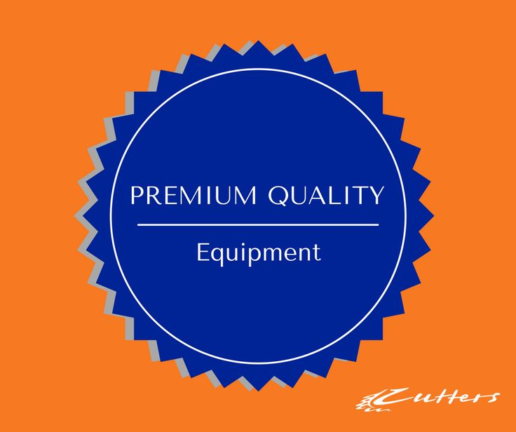 At Cutters we strive to be the leading authority in our industry. We pride ourselves in the supply of premium quality equipment, services and support to professionals who take pride in a job well done!
