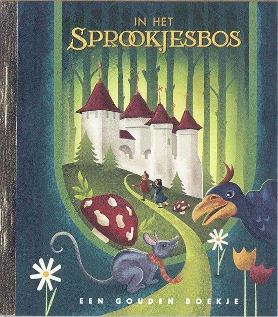 In het sprookjesbos *** Gouden boekjes *** Muis dwaalt door het beroemdste Sprookjesbos van Nederland, samen met zijn vriend Kraai. Muis zoekt het huis van zijn neefjes, die geven een feest. Maar waar wonen ze ook alweer? Onderweg komen Muis en Kraai veel bewoners van de Efteling tegen