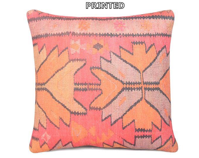 20x20 kilim pillow 20x20 decorative pillow 20x20 pillow cover 20x20 pillow case 20x20 throw pillow covers large kilim pillow cushions 68-50