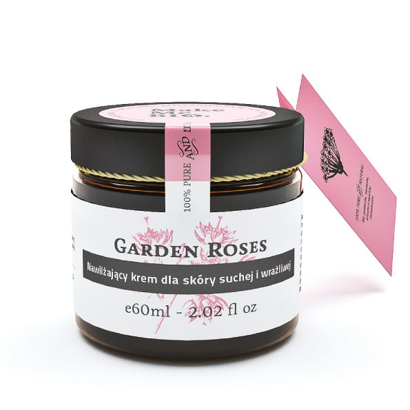 Różany ogród. Krem Garden Roses dla skóry suchej i wrażliwej. Idealny!