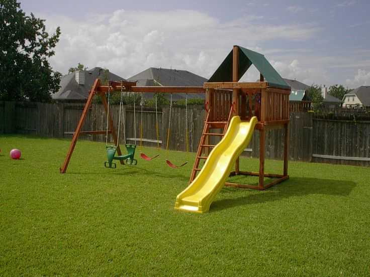25 best ideas about swing set plans on pinterest - Backyard swing plans photos ...