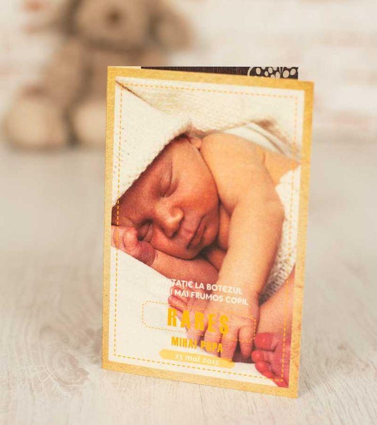 Invitatie botez - My Beautiful Baby | Invitatii si accesorii pentru evenimentele tale speciale
