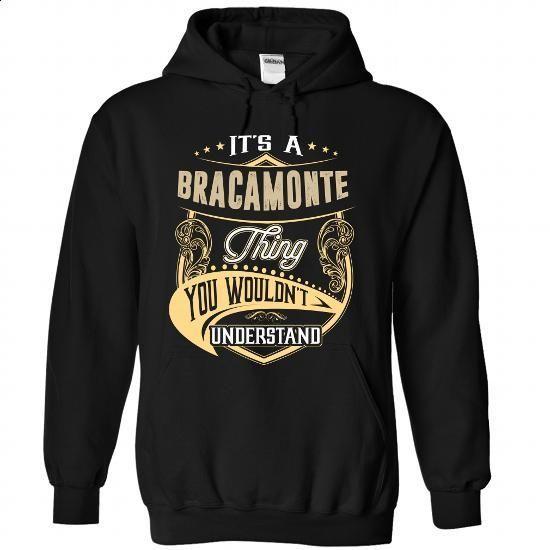 BRACAMONTE - #logo tee #hooded sweatshirt. BUY NOW => https://www.sunfrog.com/Names/BRACAMONTE-7331-Black-Hoodie.html?68278