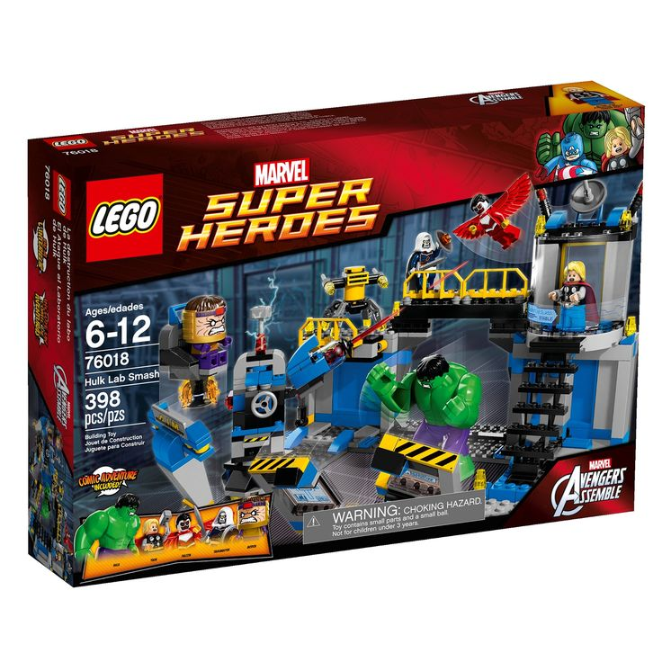 New LEGO Marvel Super Heroes 2014 Sets Include Electro, MODOK, Taskmaster, Falcon And More