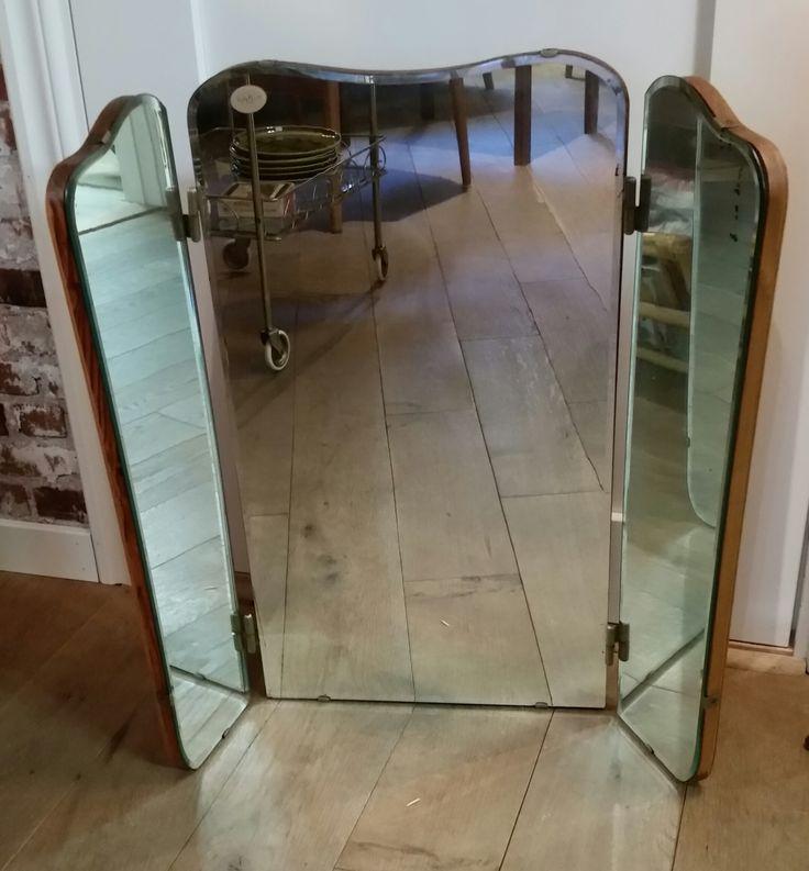 tredelad spegel 40tal