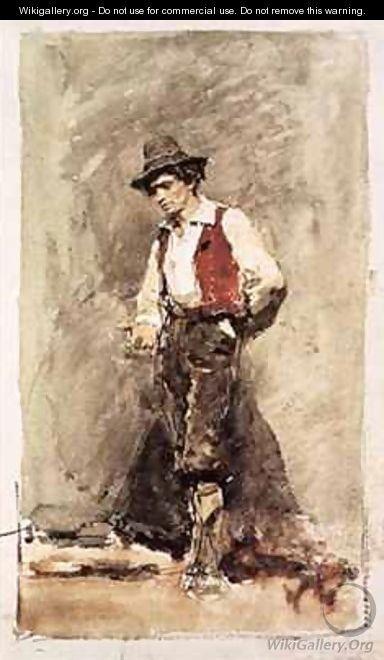 Old man - Mariano Fortuny y Marsal
