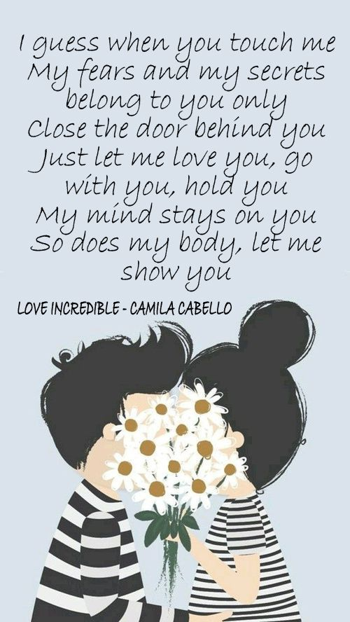 Love Incredible - Camila Cabello
