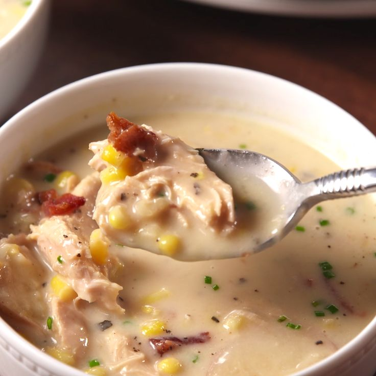 Corn chowder is so much better when it's cooked low and slow.