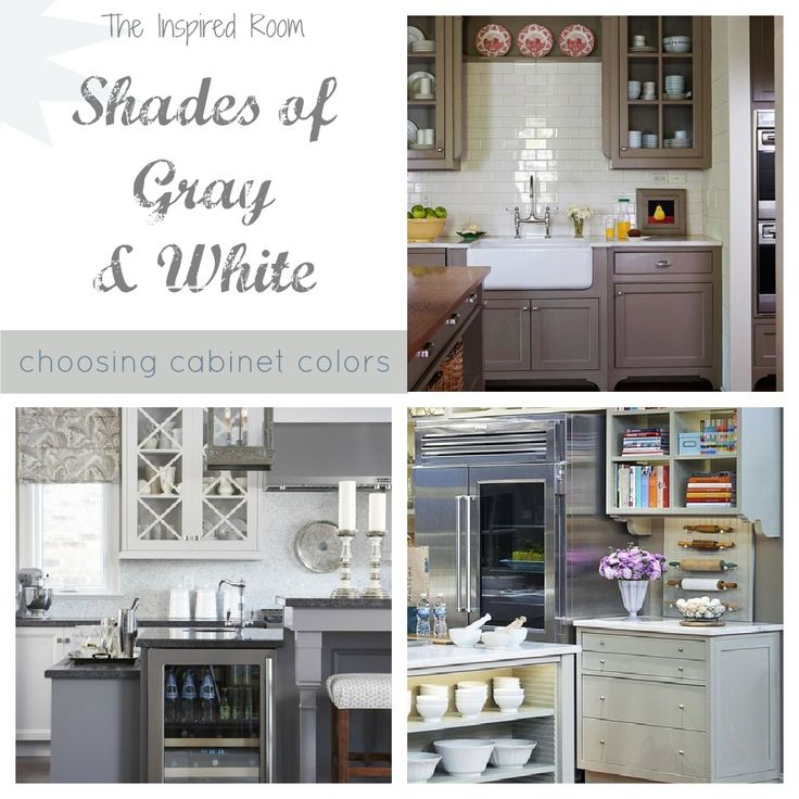 shades of neutral gray white kitchens choosing cabinet colors colour gray gray and inspiration. beautiful ideas. Home Design Ideas