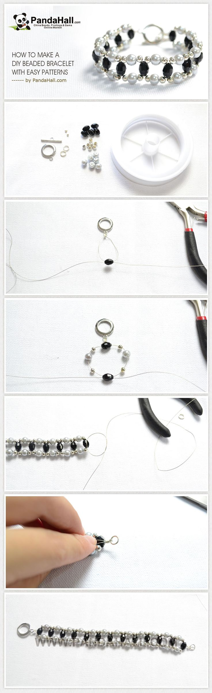Make a DIY Beaded Bracelet with Easy Beading Patterns