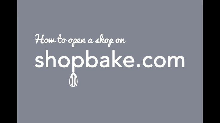 How to open an online bakery on shopbake.com. A simple how-to video on how to open up a shop on the soon-to-launch shopbake.com! Shopbake.co...
