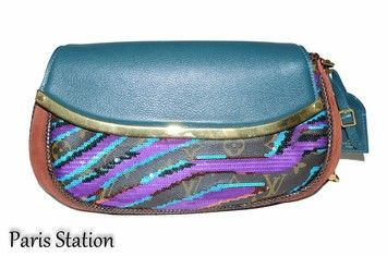 Louis Vuitton Limited Edition Python Sequins Blue Clutch. Get the trendiest Clutch of the season! The Louis Vuitton Limited Edition Python Sequins Blue Clutch is a top 10 member favorite on Tradesy. Save on yours before they are sold out!