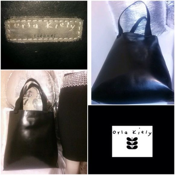 Orla Keily Genuine Leather Tote London designer... This beautiful Orla Keily strong cow leather tote..Offers are welcome... Orla Keily Bags Totes