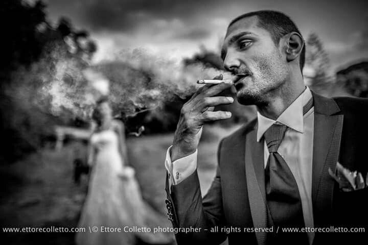 Smoky wedding - Groom & Bride for Ettore Colletto fotografo per matrimoni in Sicilia  www.ettorecolletto.com