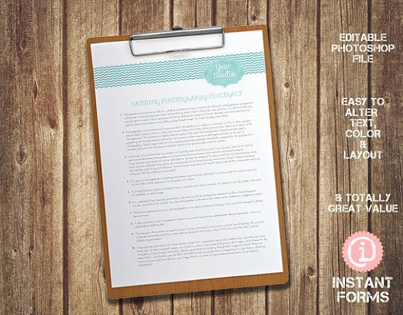Wedding Photography Questionnaire and Forms and by InstantForms, $14.95 #photography #forms #photographyforms #photography #forms #photographyforms #wedding #weddingform #weddingcontract #bride #bridal