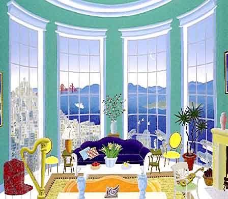 Thomas McKnight's San Francisco Bay Limited Edition Fine Art