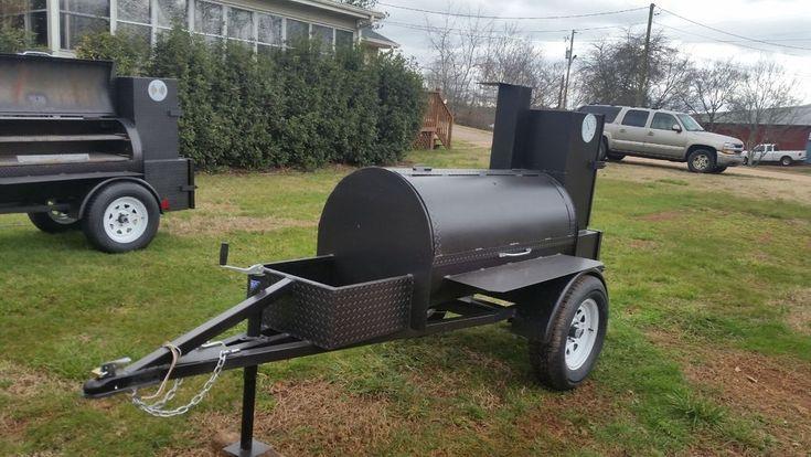 bbq smoker trailer | Business & Industrial, Restaurant & Catering, Commercial Kitchen Equipment | eBay!