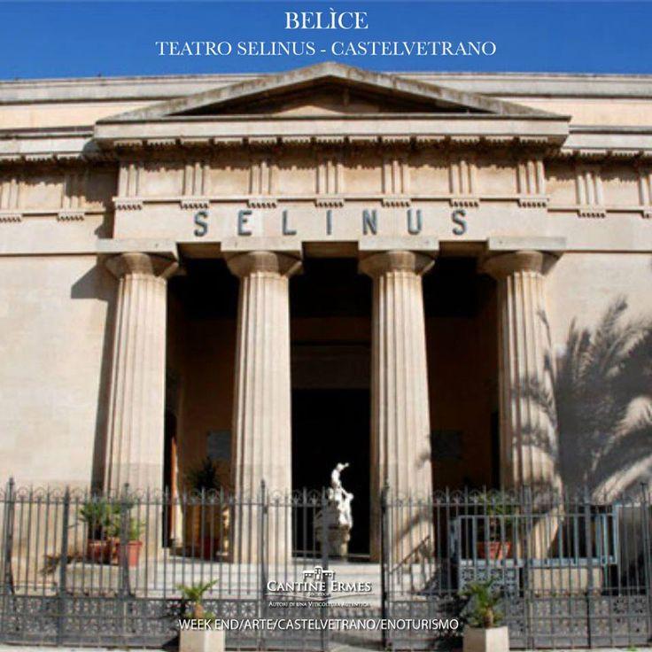 Nell'area in cui sorgeva originariamente una locanda, nella quale soggiornò anche il grande Goethe durante un suo viaggio in Sicilia, a Castelvetrano fu edificato l'attuale Teatro Selinus. La prima rappresentazione risale al 1908, mentre nel 1910 venne aggiunta un'opera di inestimabile valore realizzata da Gennaro Pardo, destinata a fungere da sipario. Lo stile chiaramente neoclassico del teatro ne delinea l'assoluta magnificenza.