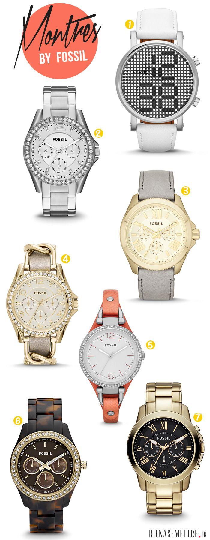 Montre Femme - FOSSIL - 2014 - Mode féminine http://www.rienasemettre.fr/2014/02/montres-focus-sur-les-montres-fossil-2014-pour-femme/